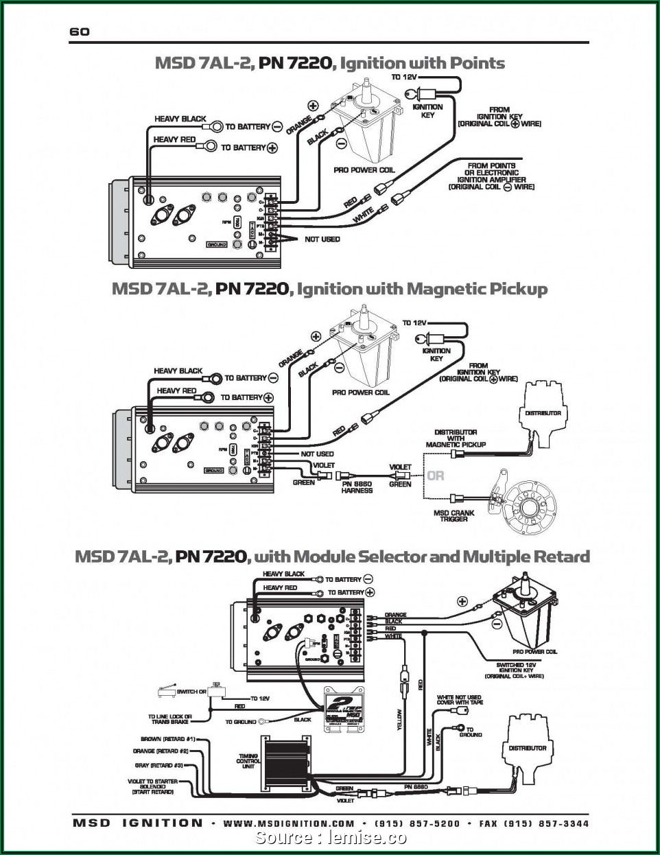 Fitech Wiring Diagram With Msd