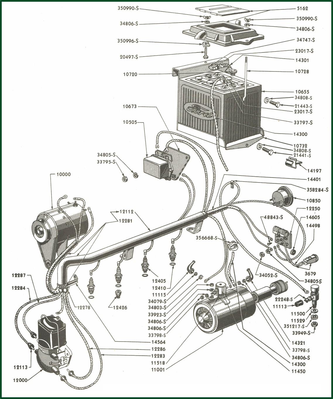 Ford 8n Alternator Wiring Diagram