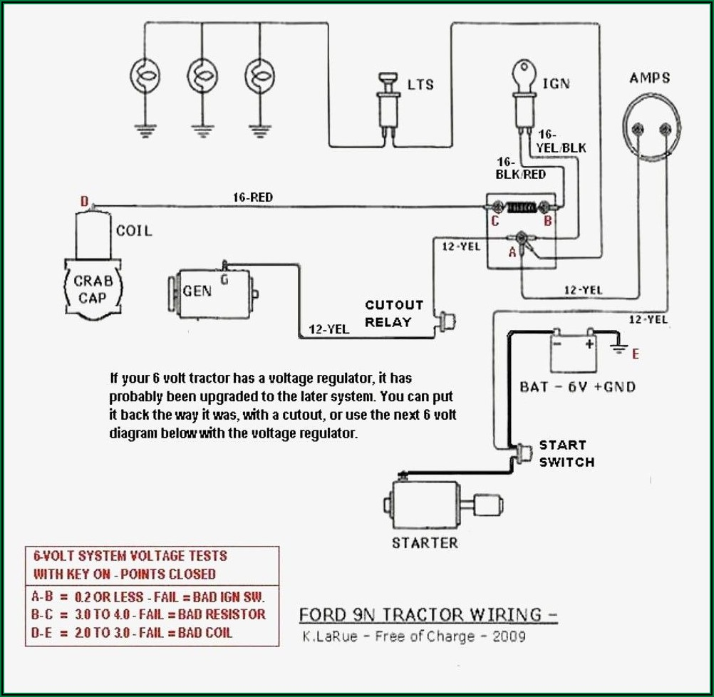 Ford 8n Front Mount Distributor Electronic Ignition Wiring Diagram
