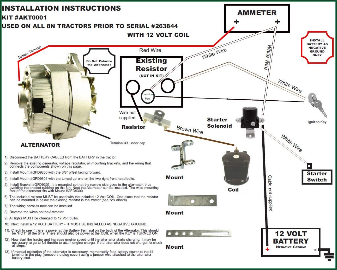 Ford 8n Wiring Diagram 6v