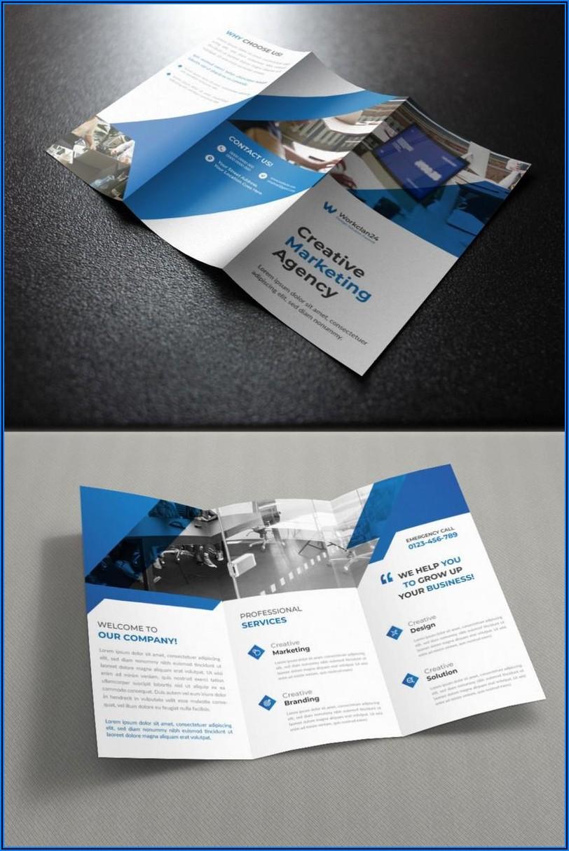 Free Advertising Brochure Templates