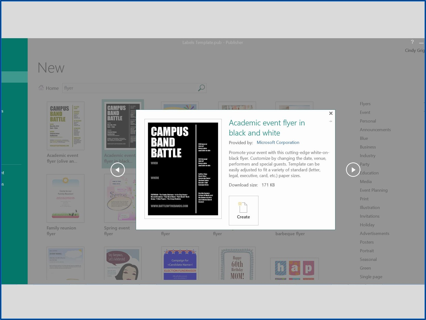 Free Ms Publisher Brochure Templates