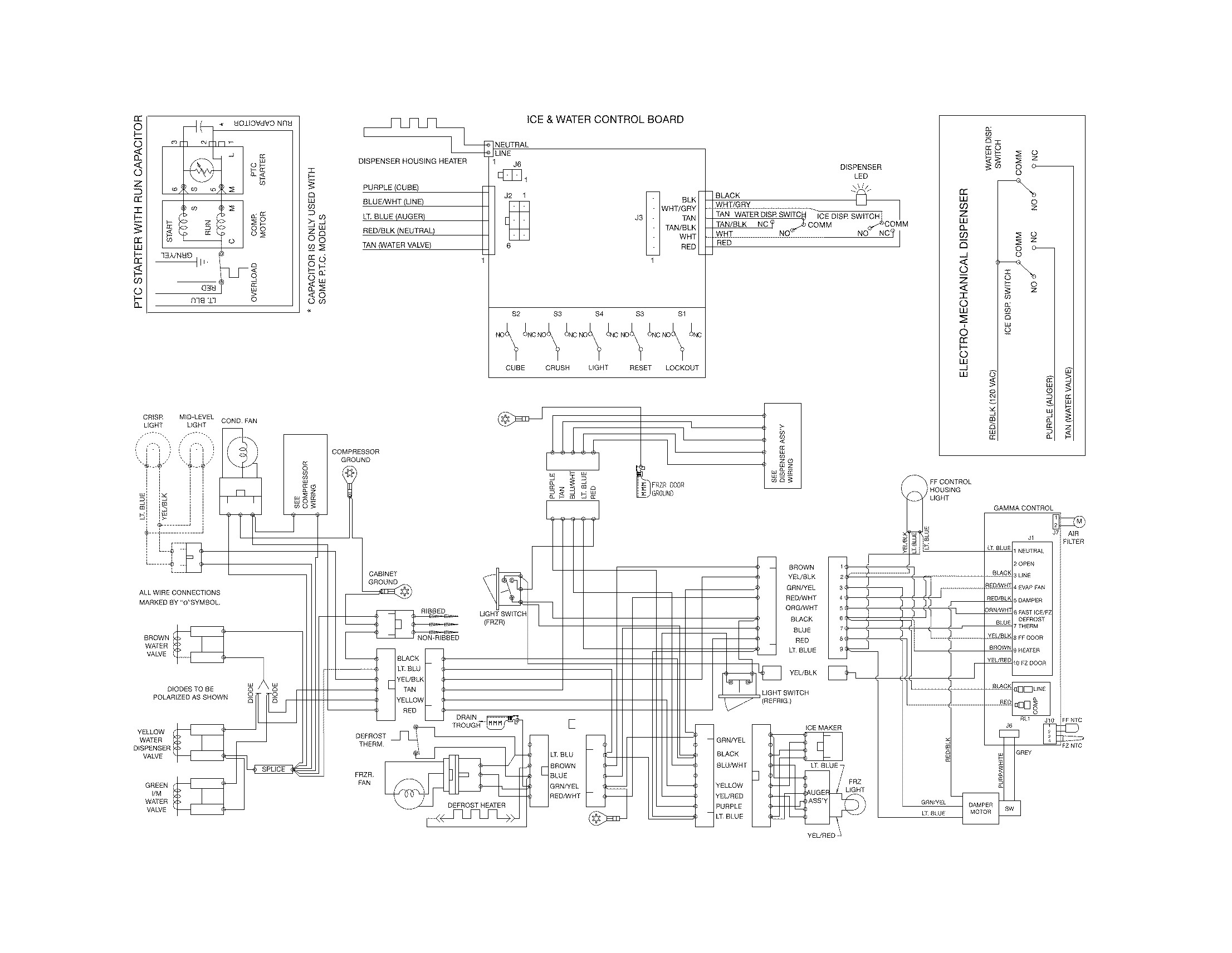 Frigidaire Refrigerator Compressor Wiring Diagram