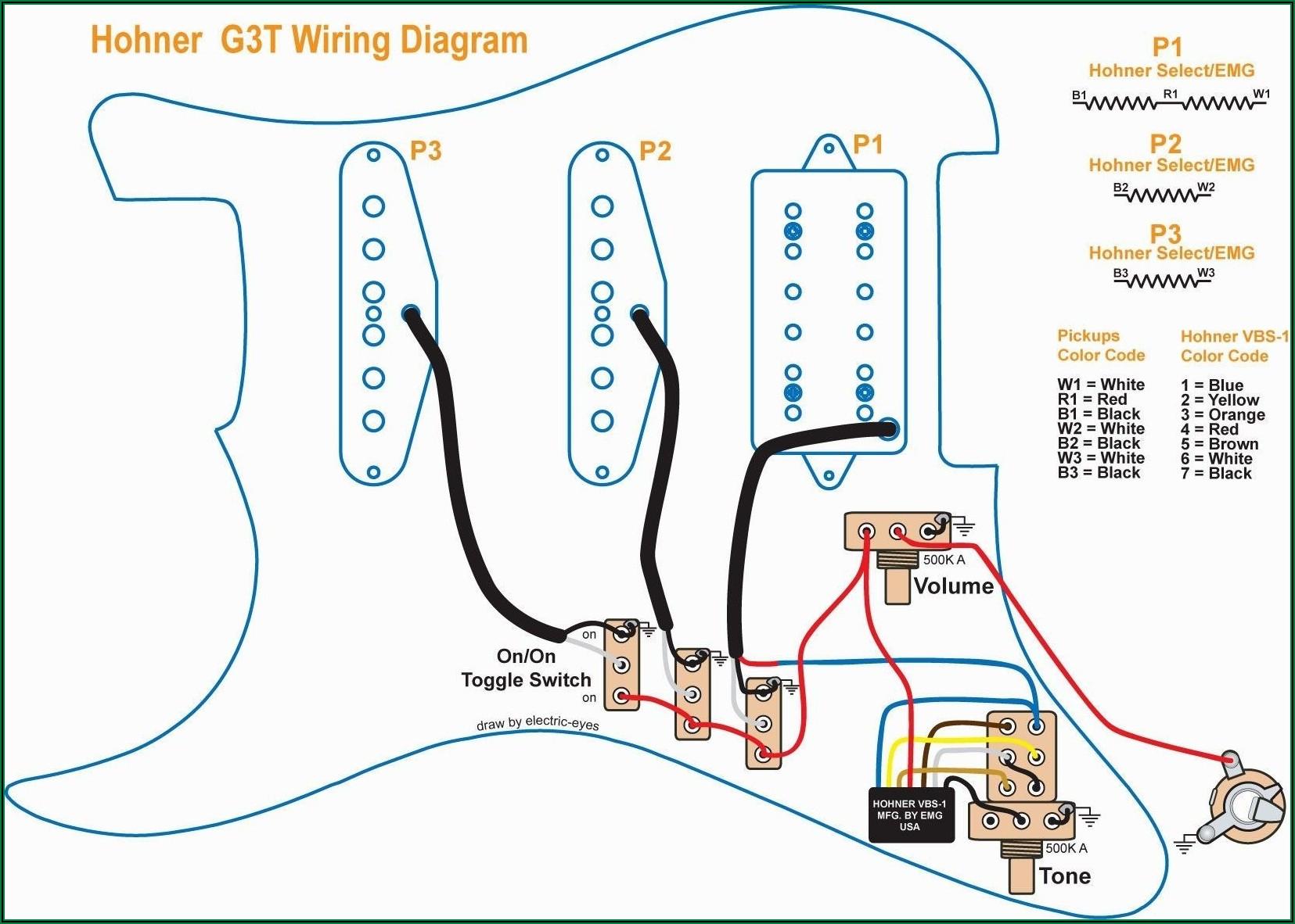 Gibson Electric Guitar Wiring Diagram