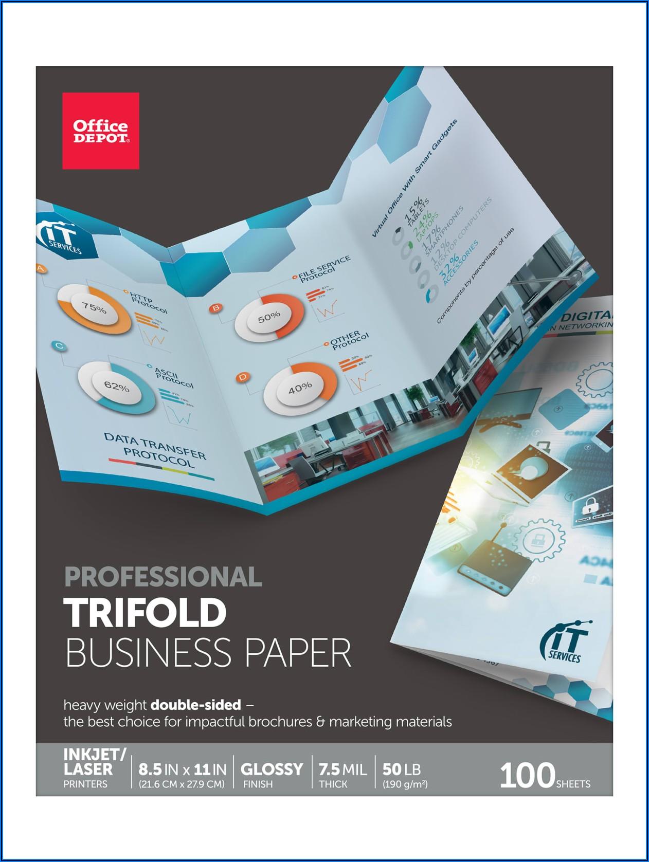 Glossy Brochure Paper For Inkjet Printers
