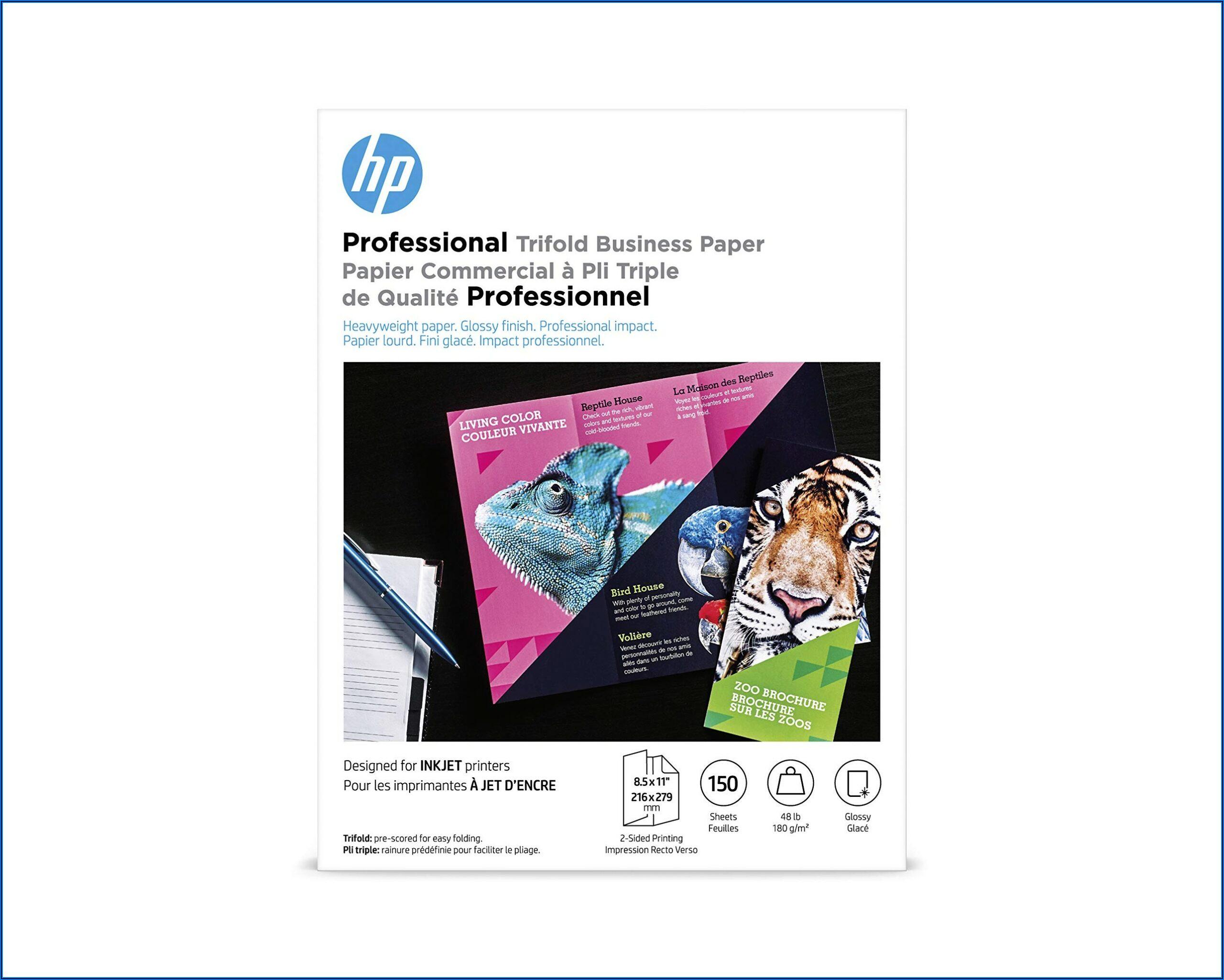 Glossy Brochure Paper Inkjet