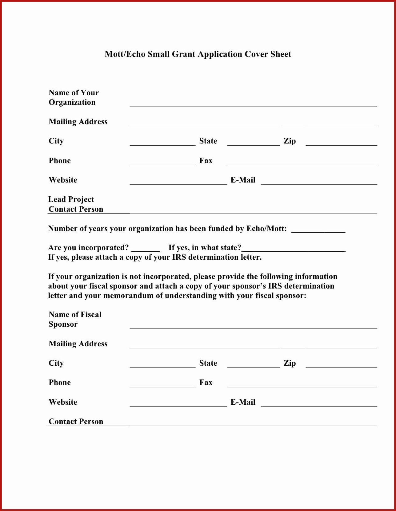 Irs 501c3 Determination Letter Copy
