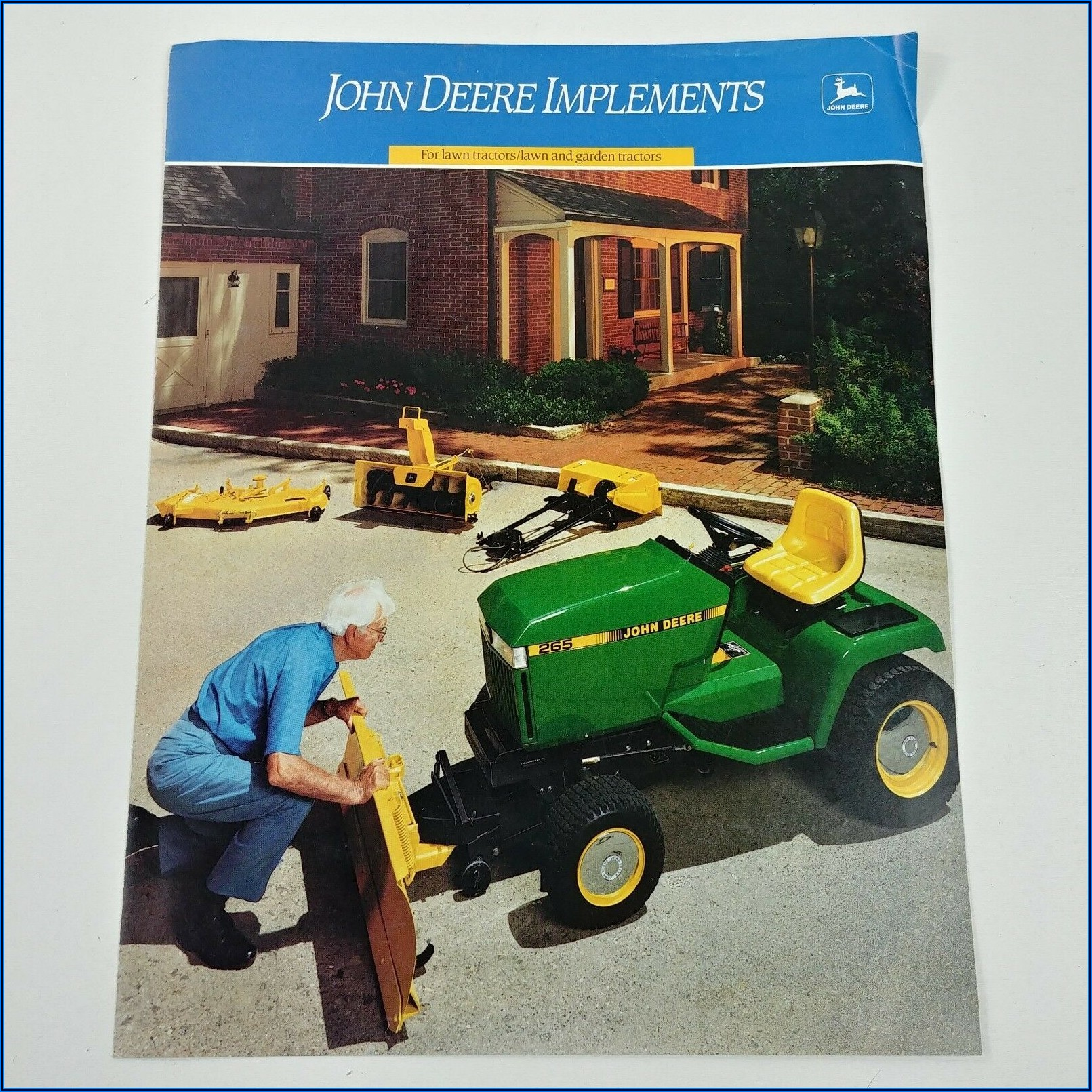 John Deere Lawn Tractor Attachments Brochure