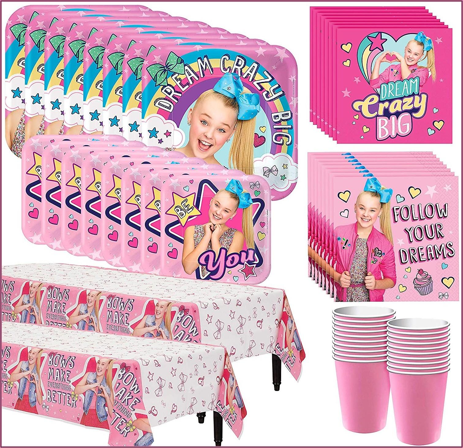 Jojo Siwa Birthday Party Walmart