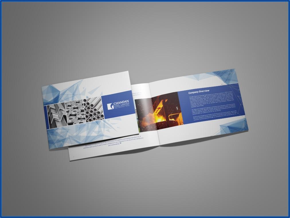 Landscape Booklet Mockup Free