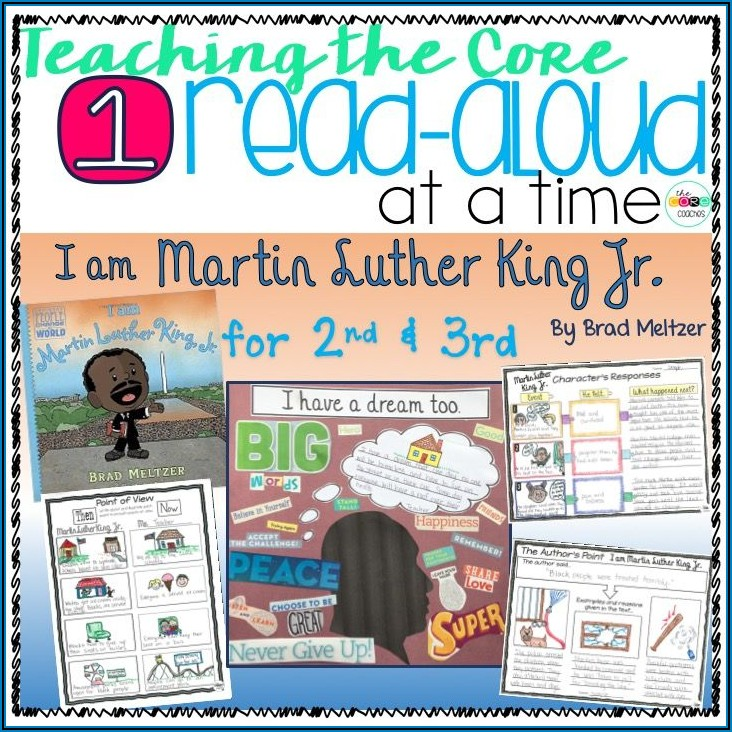 Martin Luther King Jr Lesson Activities