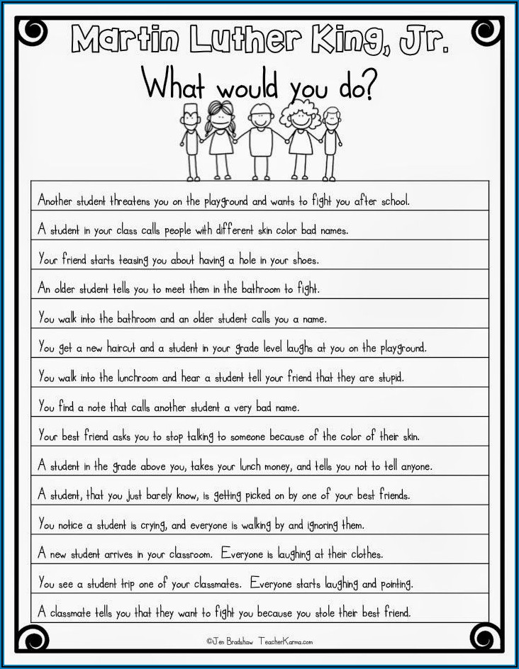 Martin Luther King Jr Lesson Ideas