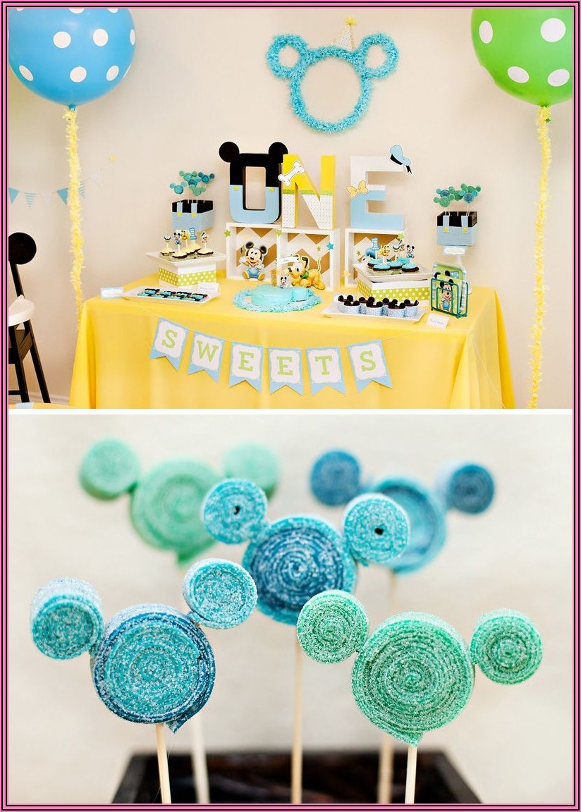 Mickey Mouse Clubhouse 3rd Birthday Invitations