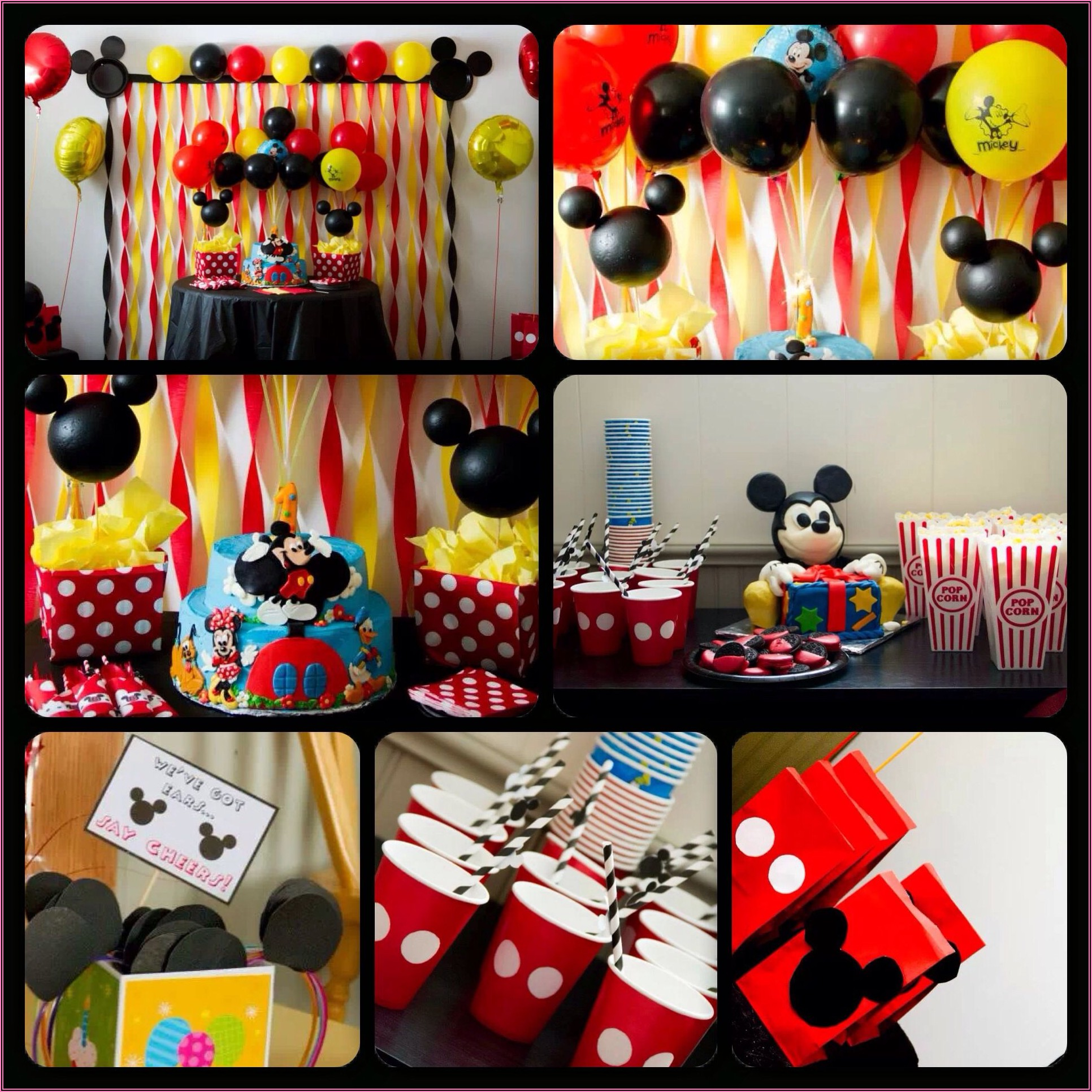 Mickey Mouse Clubhouse First Birthday Party