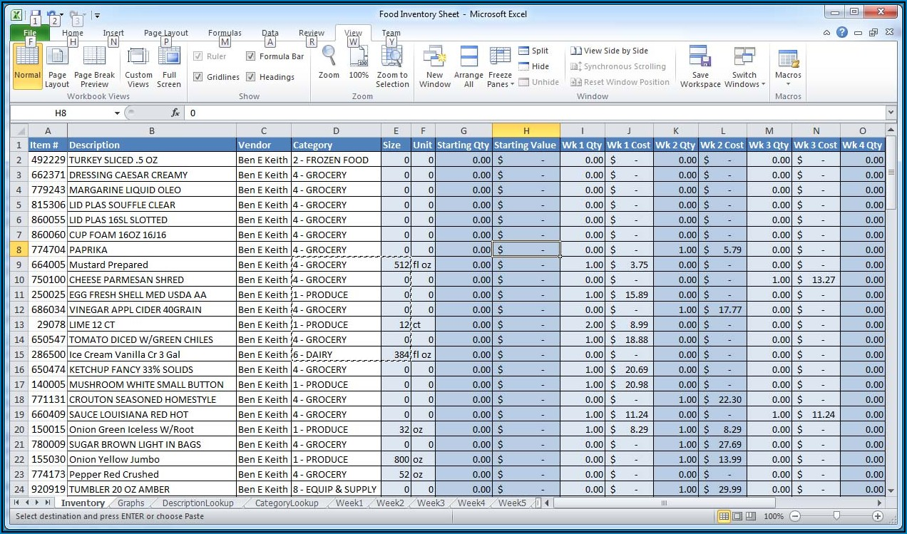 My Excel Spreadsheet Has Numbers Columns
