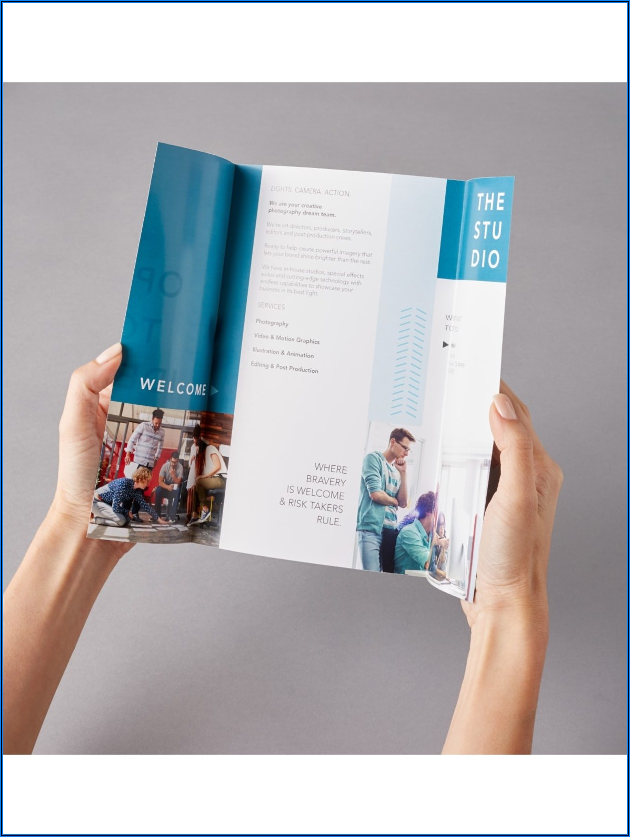 Office Depot Tri Fold Brochure Template
