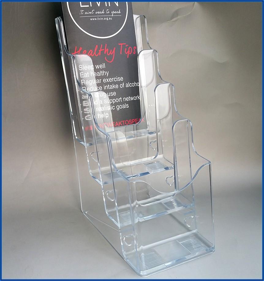 Plastic Display Holders For Brochures