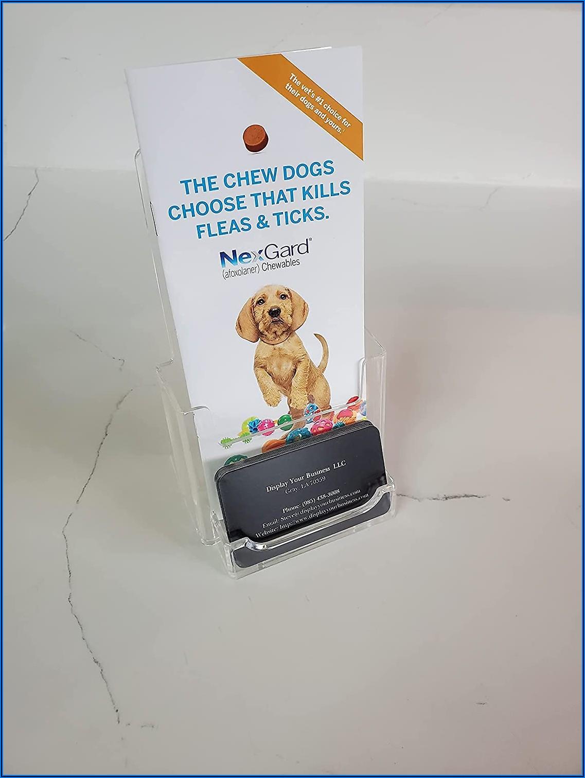 Plastic Tri Fold Brochure Holders