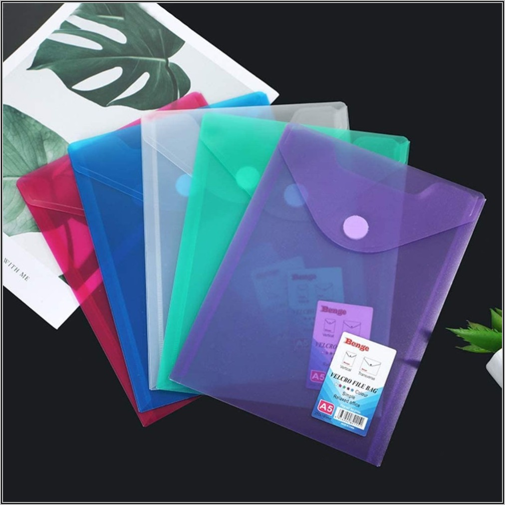 Poly Envelopes With Velcro Closure