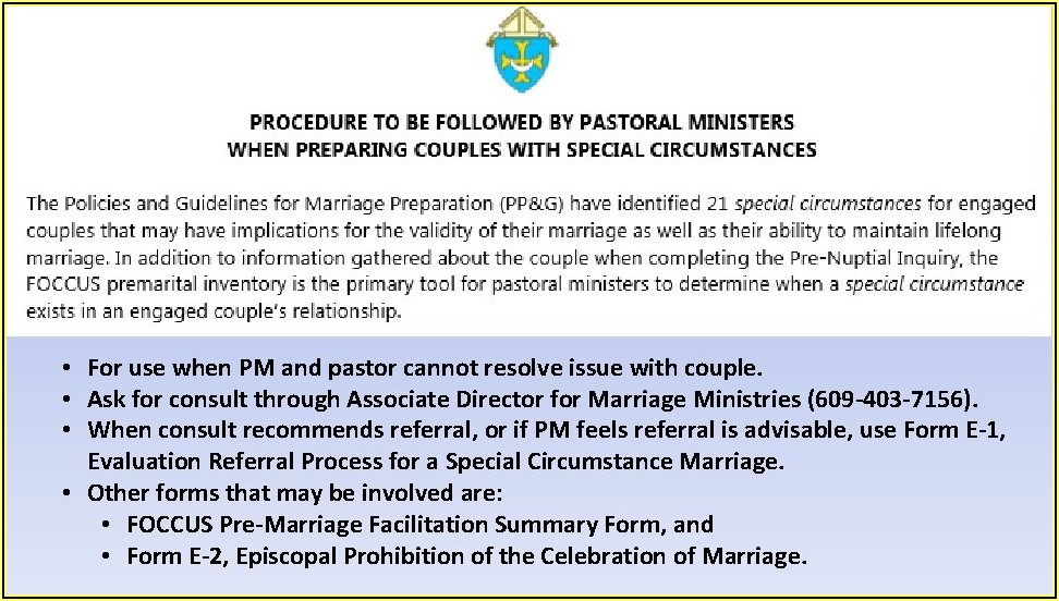Pre Nuptial Enquiry Form India