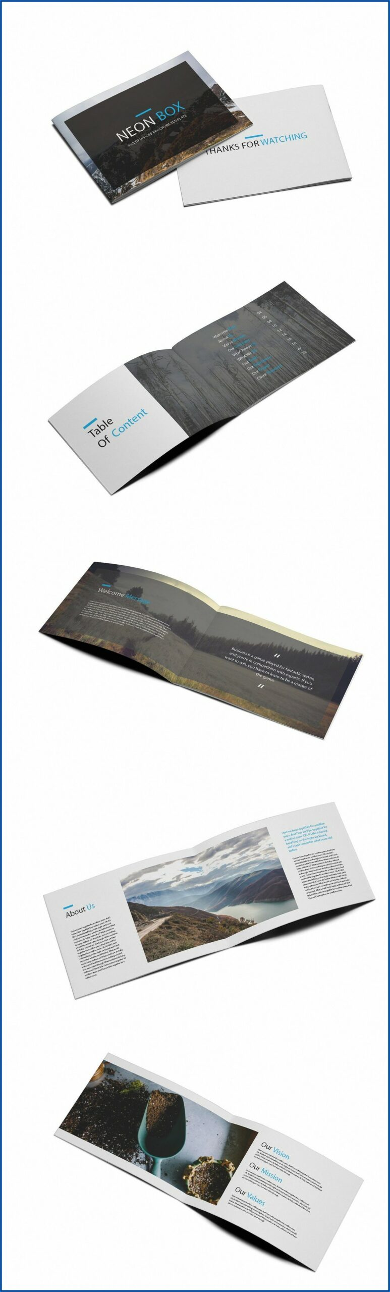 Real Estate Brochure Box With Stake