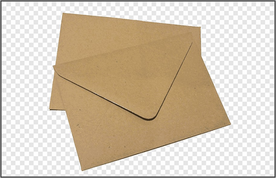Recycled Brown Paper Cards And Envelopes
