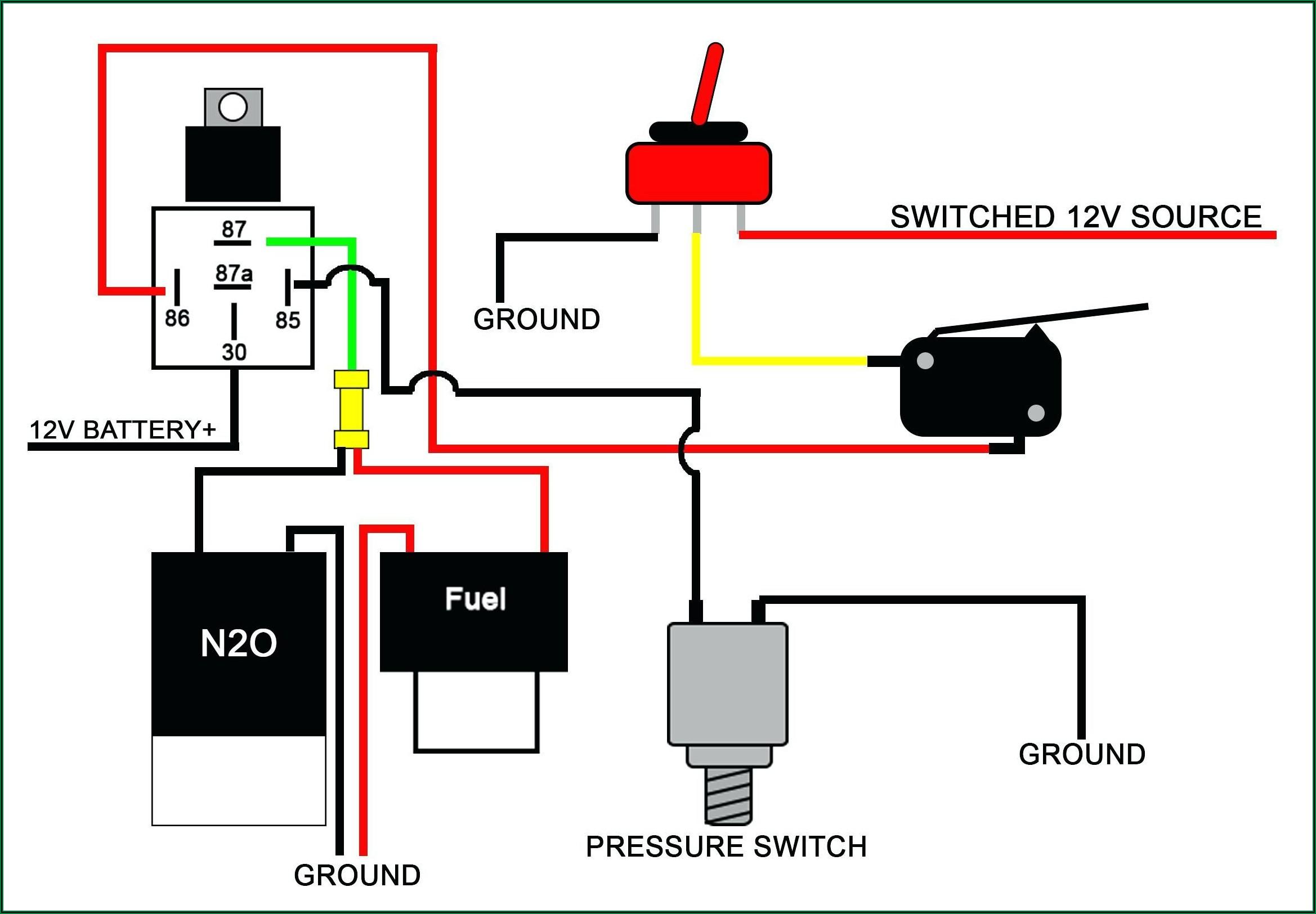 Relay Wiring Diagram 12v