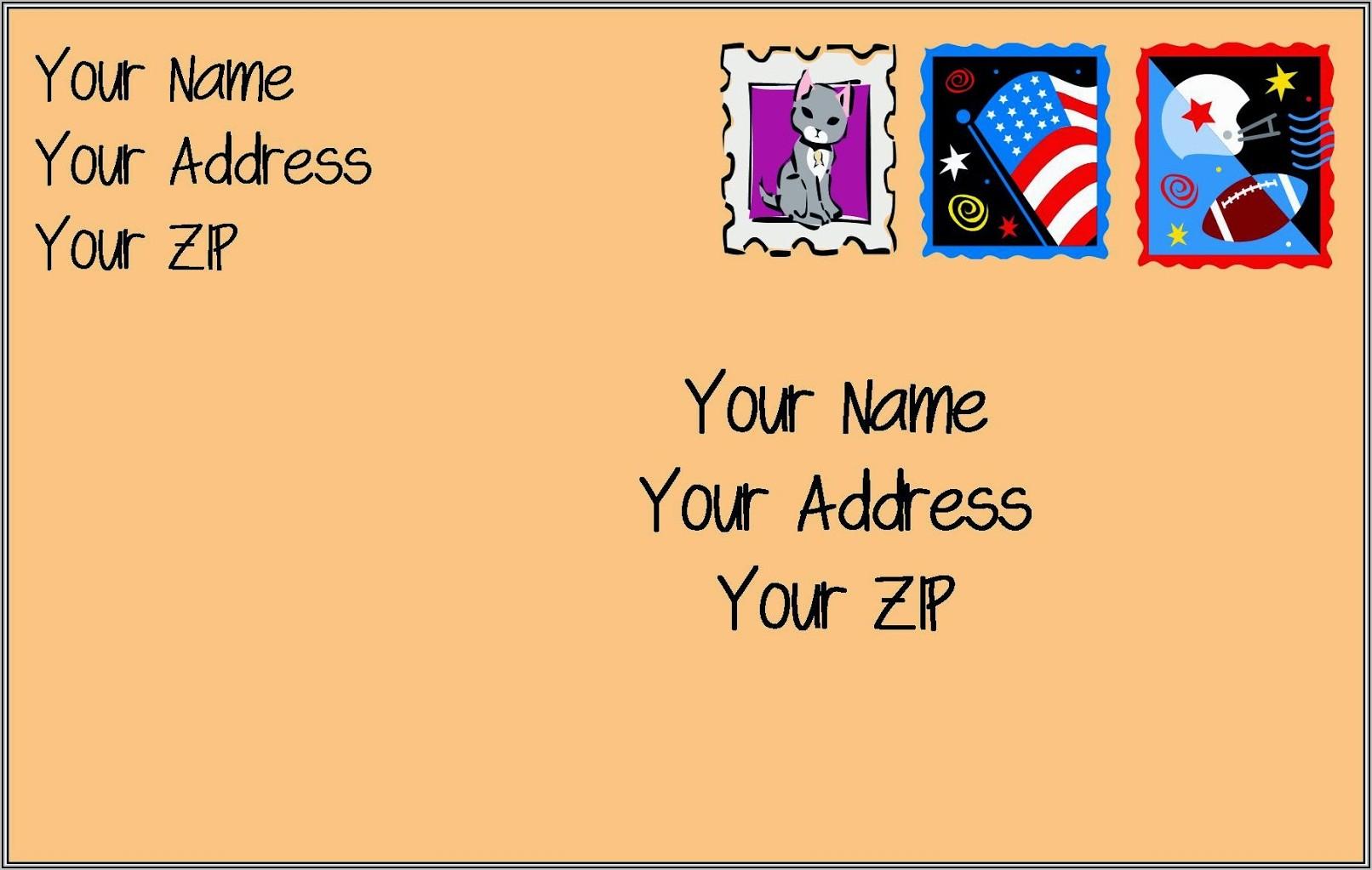 Self Addressed Stamped Envelopes