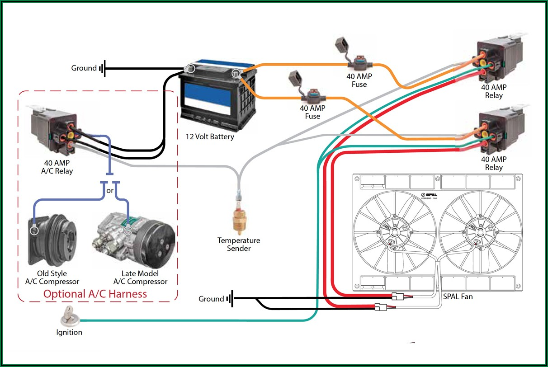Single Phase Ac Compressor Wiring Diagram