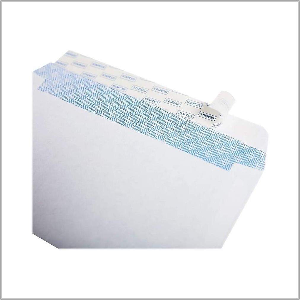 Staples No 10 Envelopes