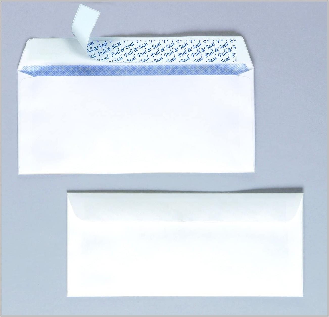 Staples Number 10 Envelopes