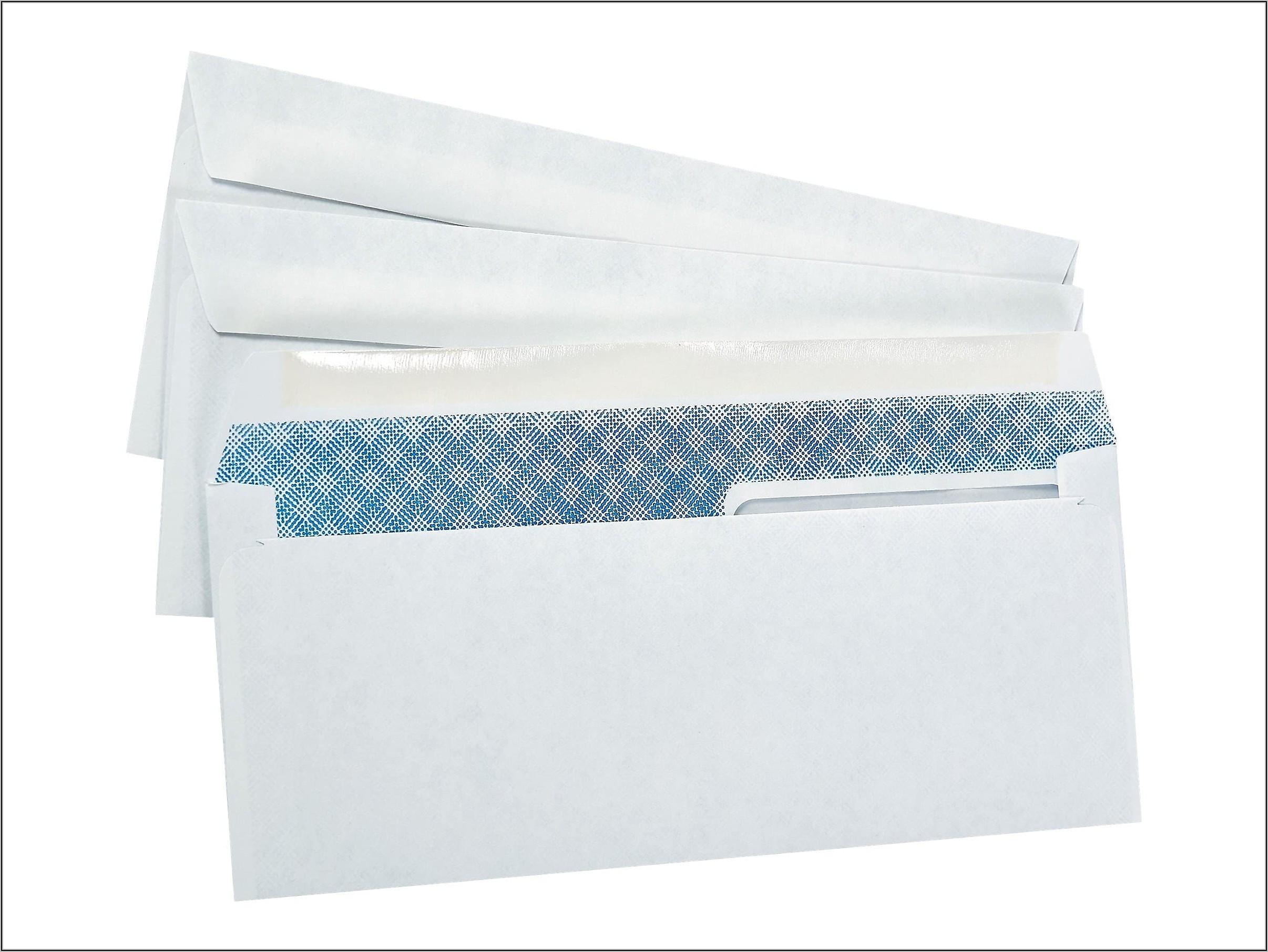 Staples Window Envelopes #10