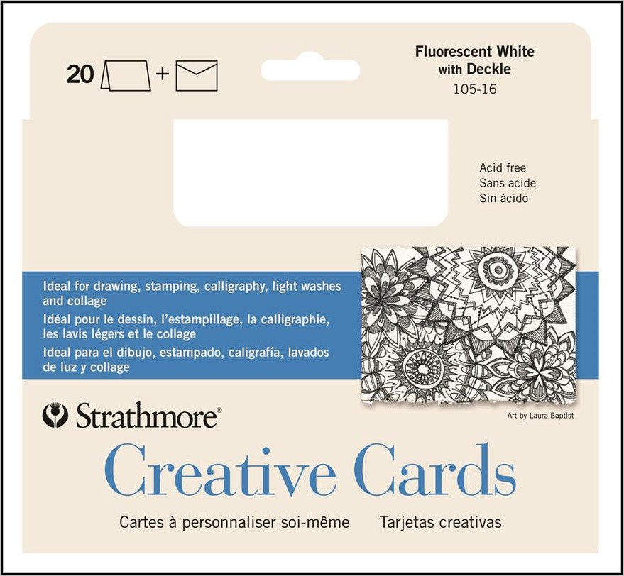 Strathmore Blank Cards And Envelopes