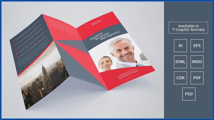 Tri Fold Brochure Template Cdr