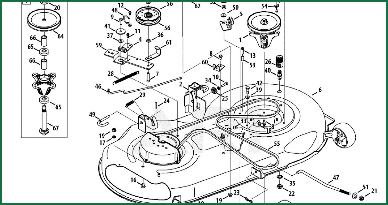 Troy Bilt Mower Belt Diagram
