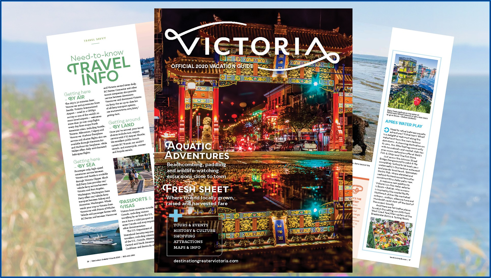 Victoria Bc Tourism Brochures