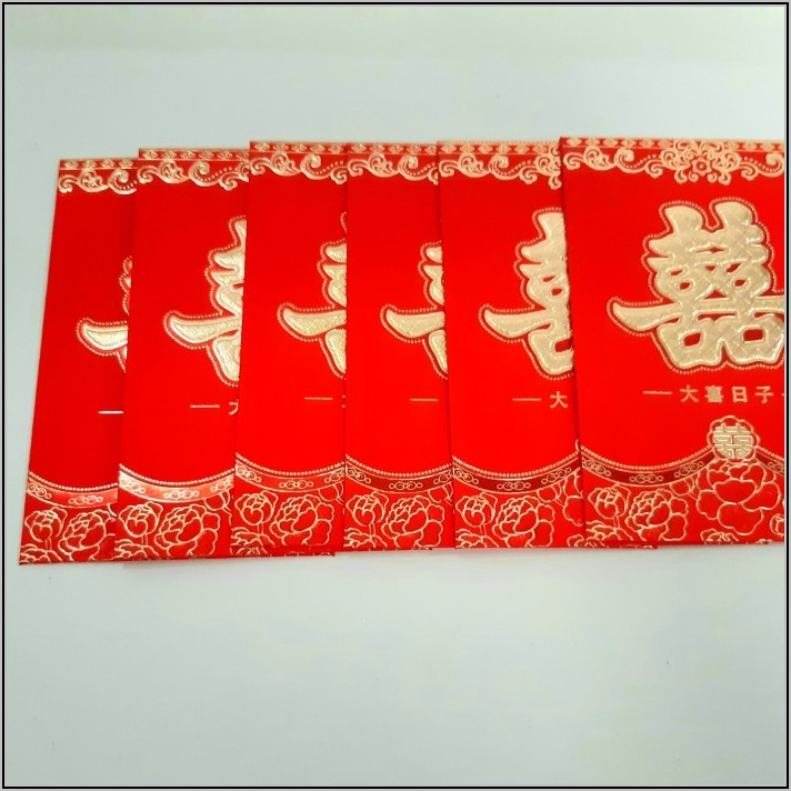 Vietnamese Red Envelope Wedding