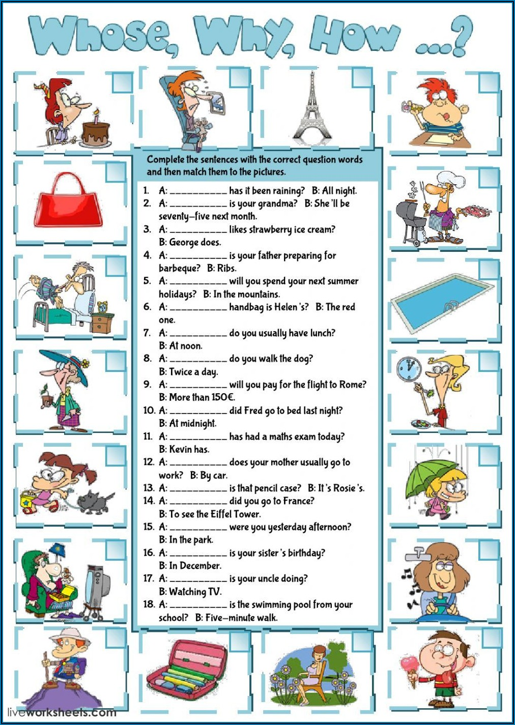 Wh Ever Word Exercises Pdf
