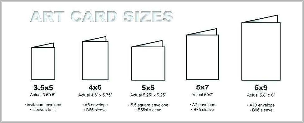 What Is The Actual Size Of A 6x9 Envelope