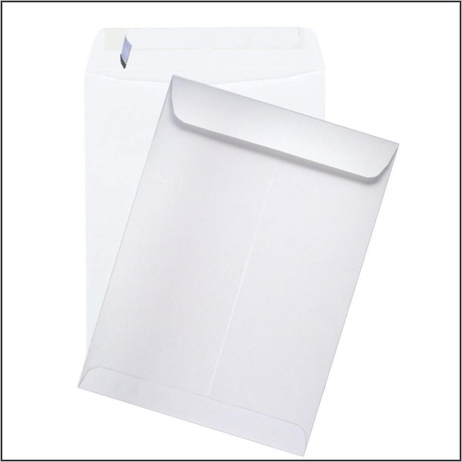 White 9 X 12 Envelopes