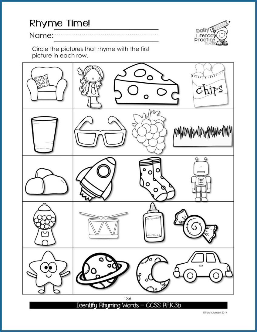 Worksheet For Sight Words Practice
