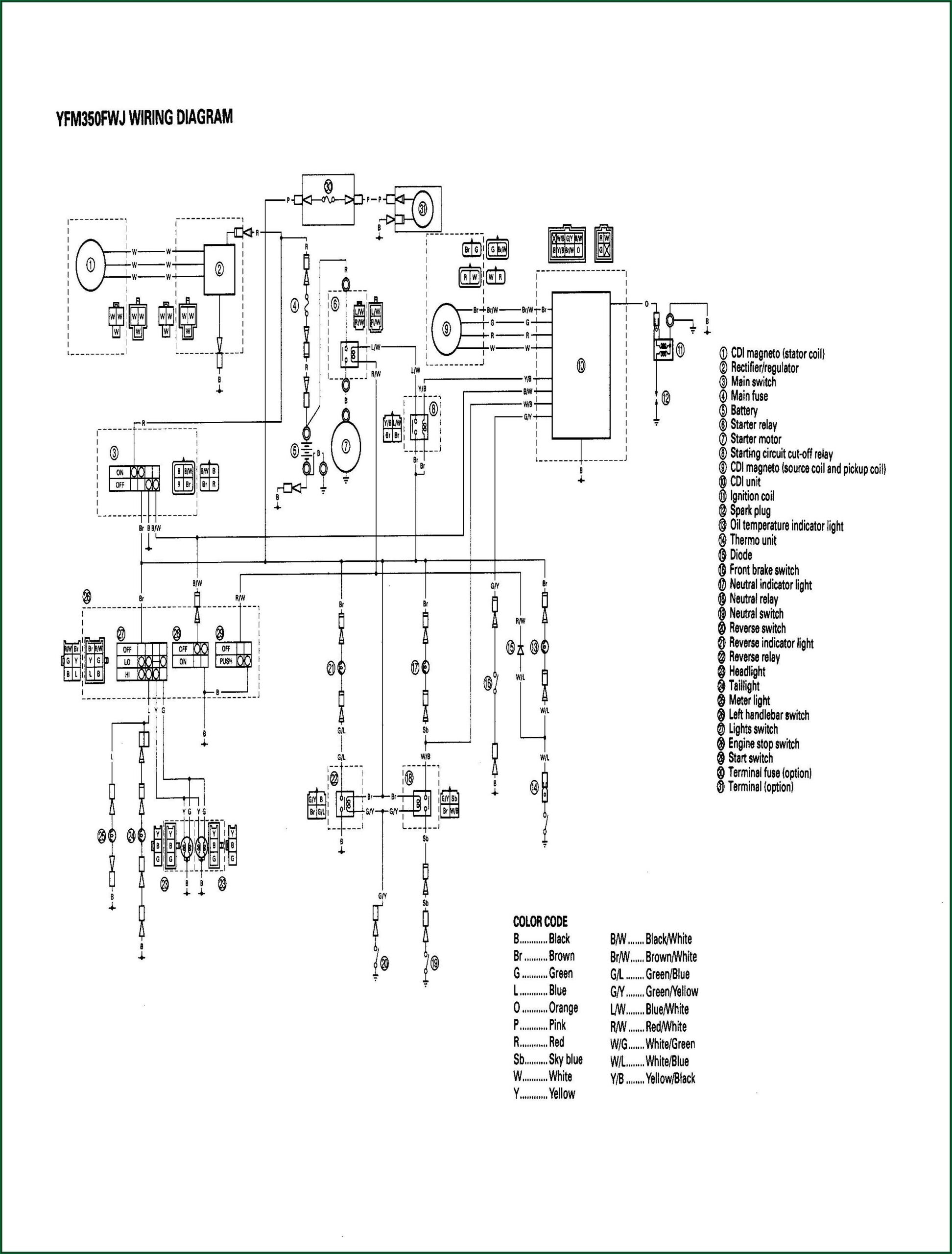 Yamaha 300 Outboard Wiring Harness Diagram