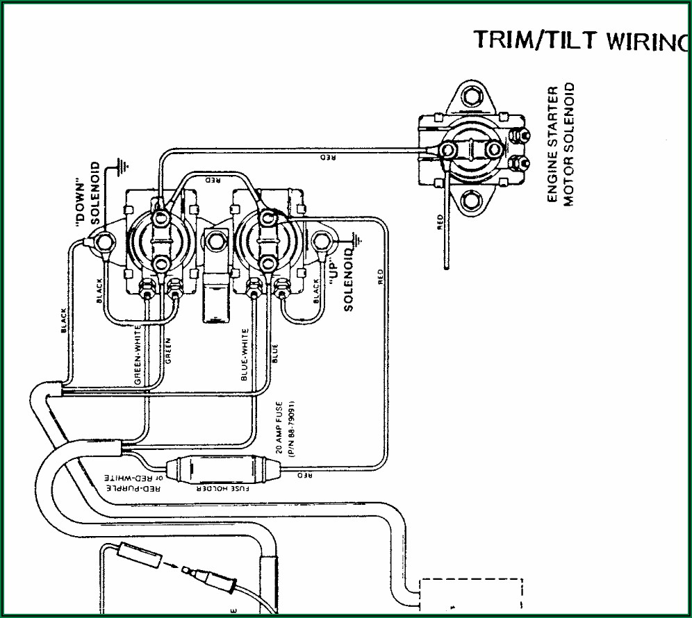 Yamaha Outboard Wiring Harness Diagram