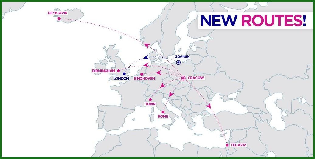 Allegiant Airlines Route Map