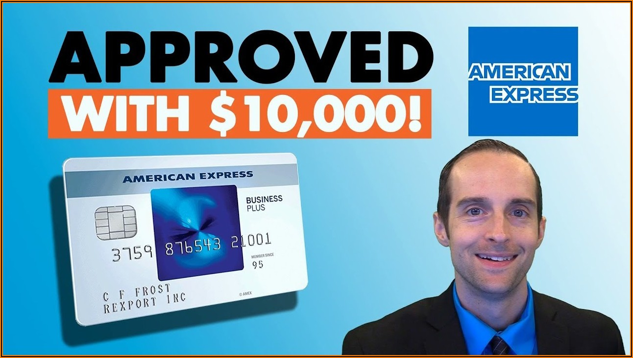 American Express Blue Business Card Application