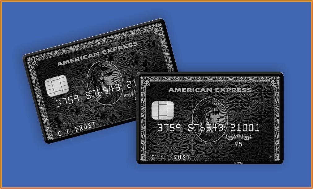 American Express Centurion Business Card Benefits