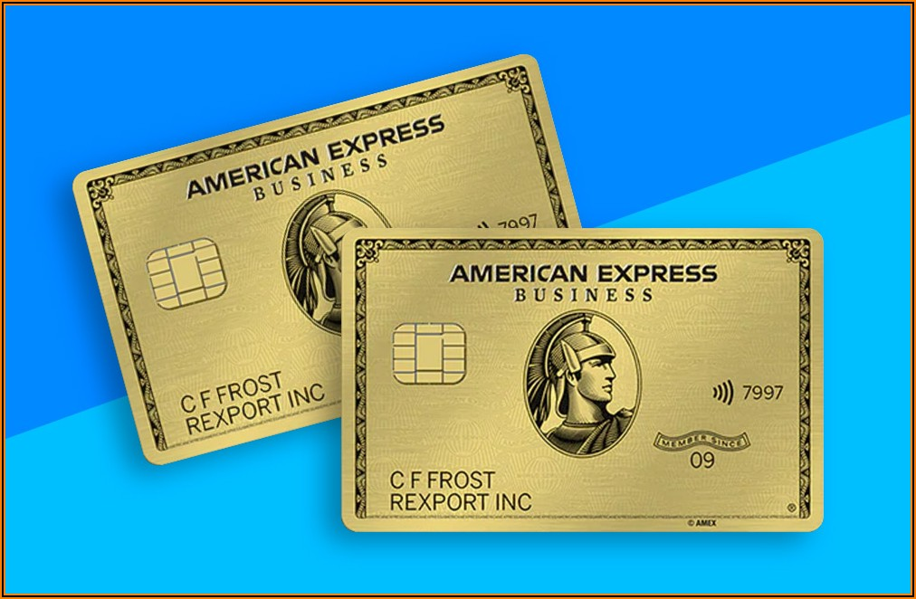 Apply For Amex Gold Business Card
