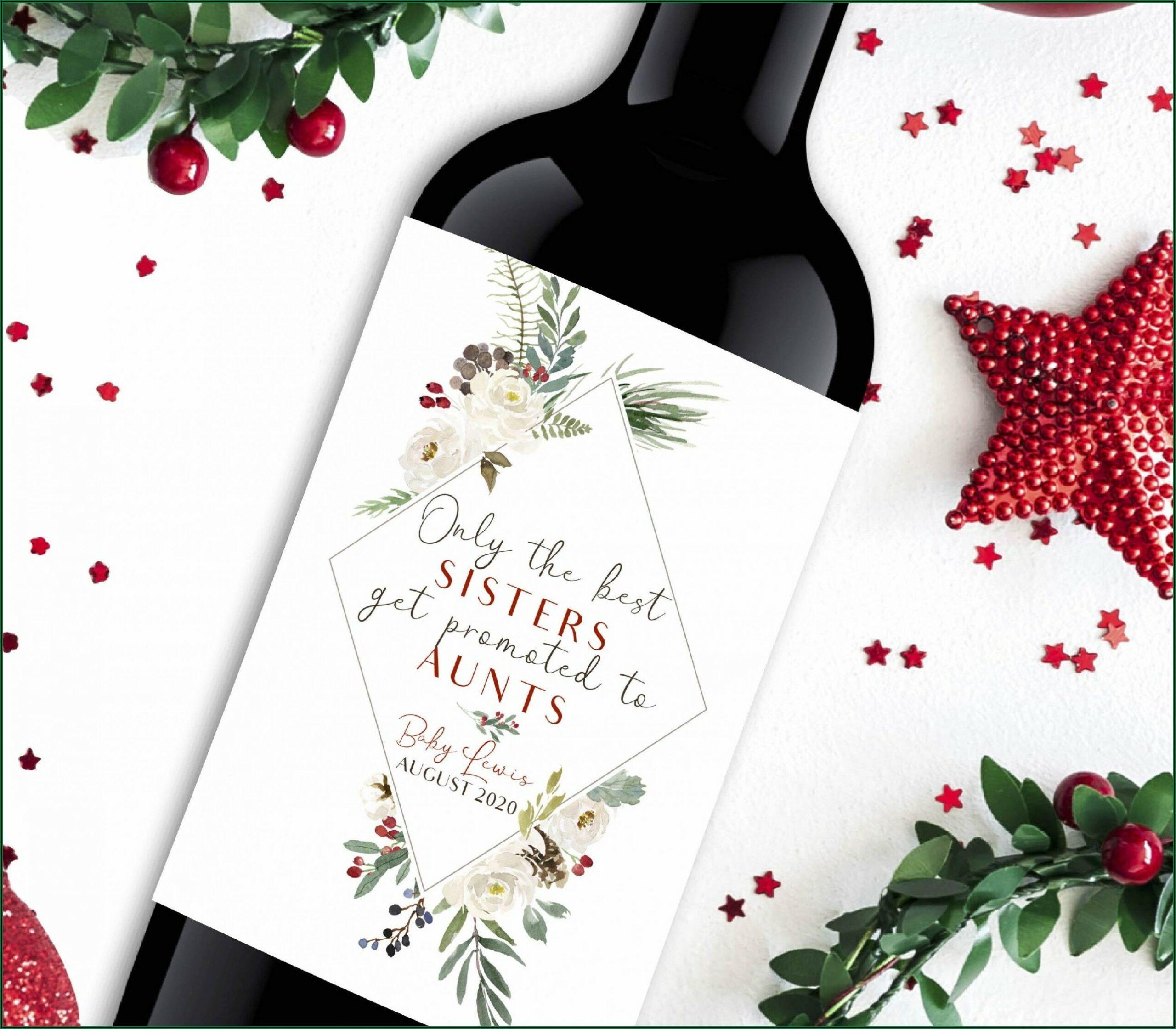 Avery Wine Bottle Labels Template