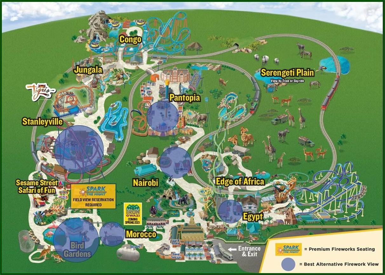 Busch Gardens Tampa Google Maps