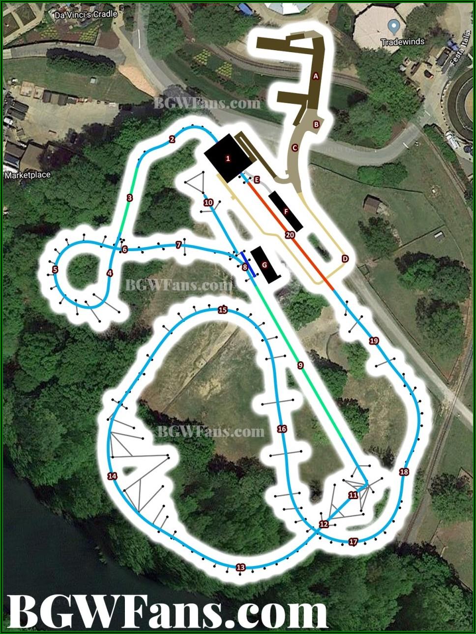 Busch Gardens Williamsburg Google Maps